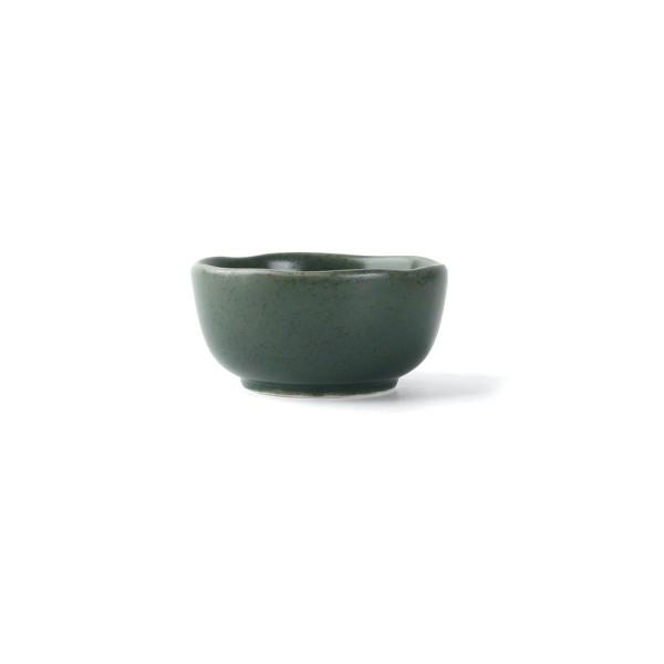 """Porzellan Schale 8 cm/0,10 l """"Musgo"""", grün"""