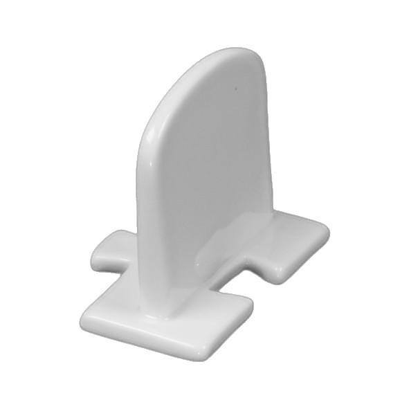 Porzellan Beschriftungstafel 6 cm (**)