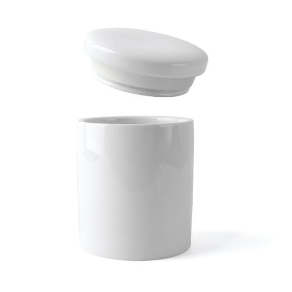 """Porzellan Vorratsdose """"Zylinder"""" 1.200 g"""