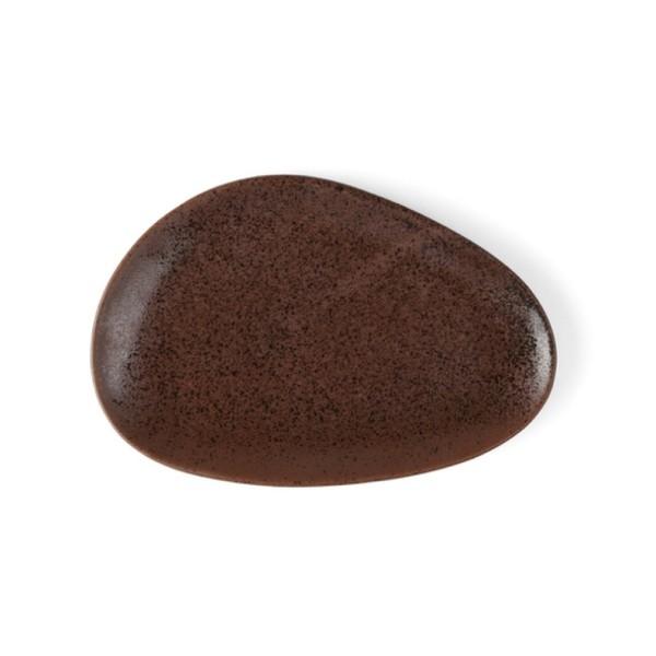 """Porzellan Platte 27 cm oval """"Tierra"""""""