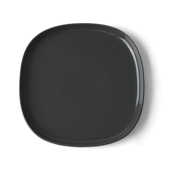 "High Alumina Porzellan Teller flach 29 cm ""Skagen"" grau"