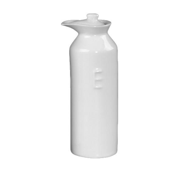 """Porzellan Essigflasche mit Prägung """"E"""" (**)"""