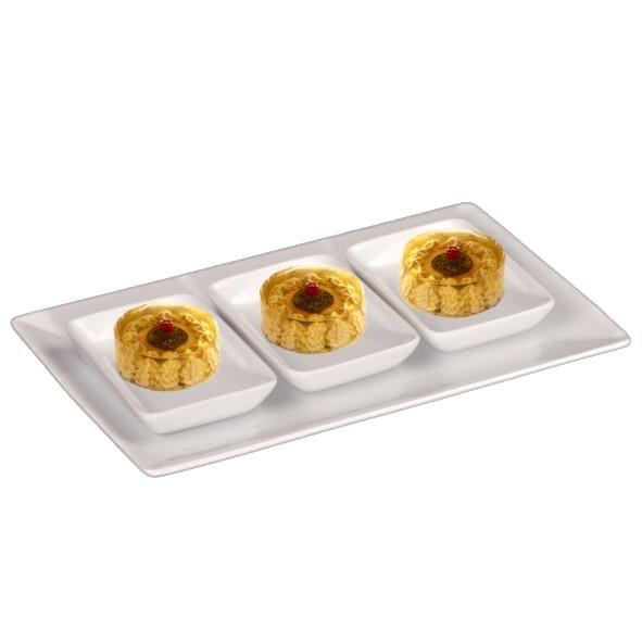 Miniaturplatten Servierset 4-tlg.