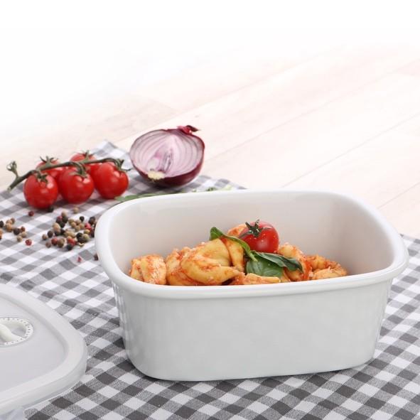 Porzellan Cook & Serve Schale 1,00 l mit KST-Deckel