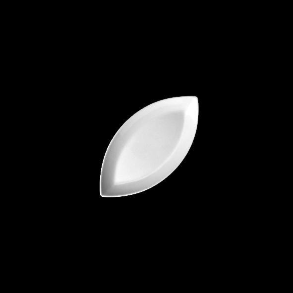 "Porzellan Miniplatte oval 10 cm ""Bateau"" (**)"