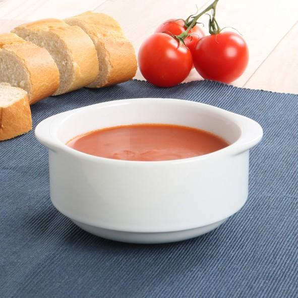 """Porzellan Suppen-Obere """"Bankett"""" 0,30 l stapelbar"""