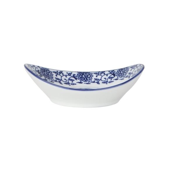 "Vorspeisenschale 14 x 11 cm oval ""Qing Hua Ci"" (**)"