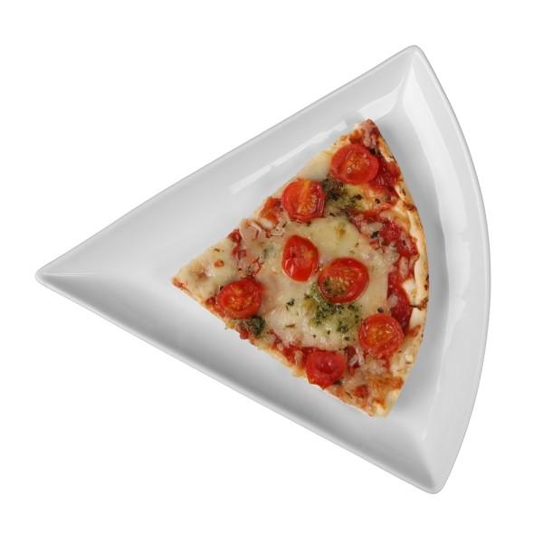 Pizzastückchen Platte 1/6 vom Pizzarad