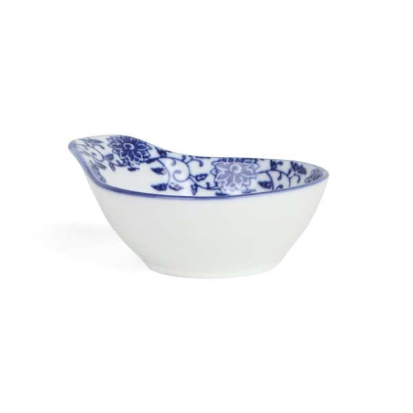 "Beilagenschale 13 x 11 cm ""Qing Hua Ci"" (**)"