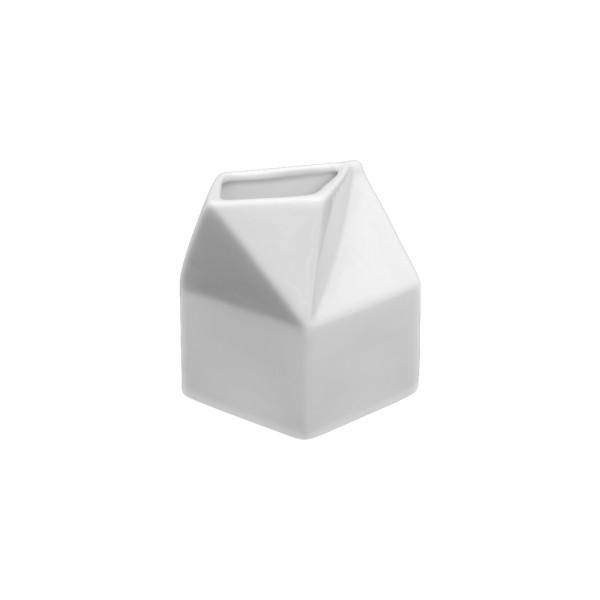"""Porzellan Kanne & Gießer 0,30 l """"Milchtüte"""" (**)"""