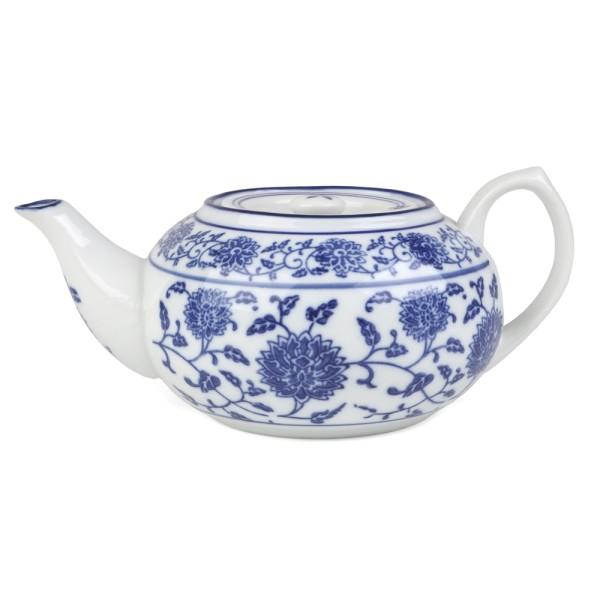 """Tischkanne 0,70 l """"Qing Hua Ci"""" (**), blau"""