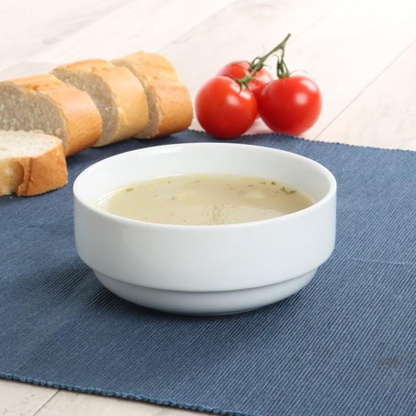 Suppenschale rund 12 cm / 0,40 l stapelbar