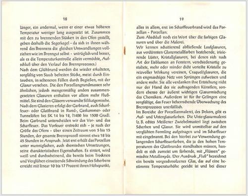 Warenkunde Holst Porzellan Karl Leutner
