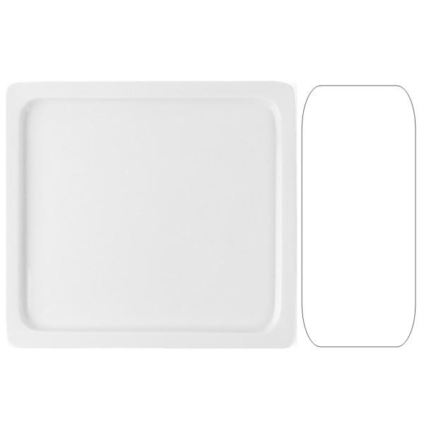 Porzellan Gastronorm Platte GN 2/3 20 mm
