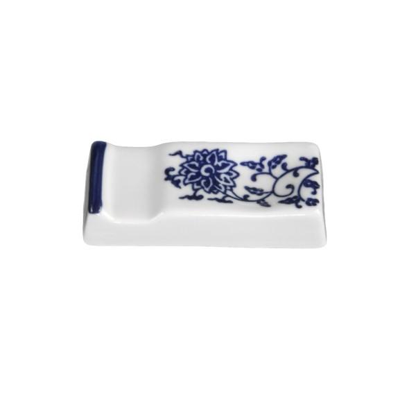 """Porzellan Besteckablage 8 cm """"Qing Hua Ci"""" (**), blau"""