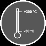 Symbol Temperaturbeständigkeit