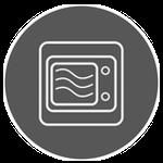 Symbol Mikrowelleneignung