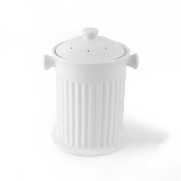 Porzellan Aufbewahrungs- & Gemüsetopf 17 cm (**)