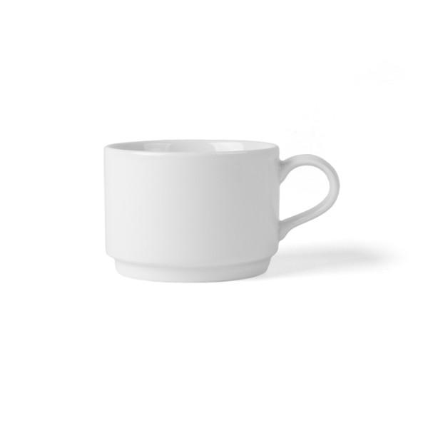 High Alumina Porzellan Kaffee-Obertasse 0,22 l stapelbar