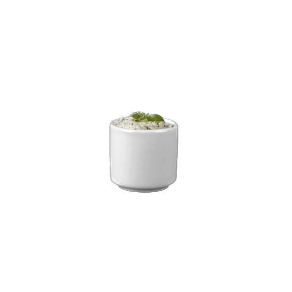 Porzellan Butter- & Crèmefässchen 5 cm
