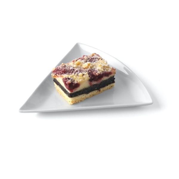 Kuchenstückchen Platte 1/6 der Torte (**)